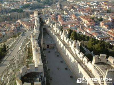 Castillo de Peñafiel - Viaje enológica a Ribera del Duero; excursiones de senderismo